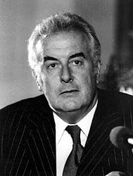 Gough Whitlam en 1972